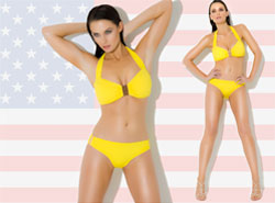 Designer swimwear made in the USA